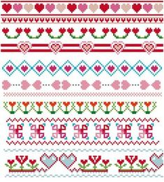 Thrilling Designing Your Own Cross Stitch Embroidery Patterns Ideas. Exhilarating Designing Your Own Cross Stitch Embroidery Patterns Ideas. Cross Stitch Heart, Cross Stitch Borders, Cross Stitch Designs, Crochet Borders, Cross Stitching, Cross Stitch Embroidery, Embroidery Patterns, Vintage Embroidery, Wedding Cross Stitch Patterns
