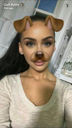 Carli Bybel snapchat: Carlipenguin5
