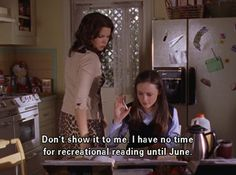 Portland District Library Stack Report: Gilmore Girl Challenge