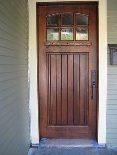 Douglas Fir Front Door
