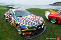 2010 BMW M3 GT2 Jeff Koons Race Car