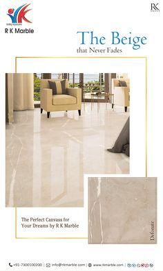 The Perfect Canvass For Your Dreams! looks really great when it's paired with much lighter and much darker elements! Marble Floor, Tile Floor, Buddha Sculpture, Beige Marble, Floor Design, Living Room Designs, Lighter, Dreaming Of You, Buildings