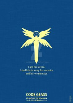 From the anime Code Geass. Symbol source: [LINK] For more of my works check out my Tumblr