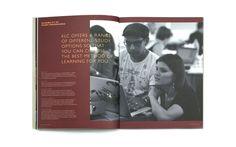 KLC School of Design | Branch #brochure