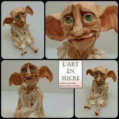 Dobby chocolat à modeler  Modeling chocolate Dobby