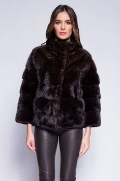 SYLA -  GIORGIO & MARIO Manteau Vison, Mario, Fur Coat, Jackets, Fashion, Down Jackets, Moda, Fashion Styles, Jacket