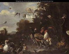 Bird Concert - Melchior de Hondecoeter