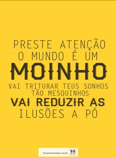 O Mundo É um Moinho - Cartola / Beth Carvalho / Cazuza