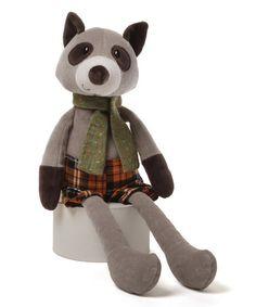 Loving this Neighborwood Rafer Raccoon Plush Toy on #zulily! #zulilyfinds