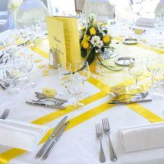 Résultats de recherche d'images pour «theme mariage jaune et bleu»