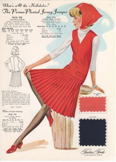 Fashion Frocks for 1965