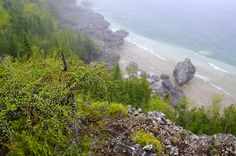 Ontario - Highlights of Hiking the Bruce Trail in Bruce Peninsula NP
