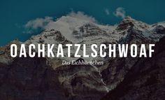 19 fabelhafte Worte, die keiner versteht, der nicht Österreicher ist