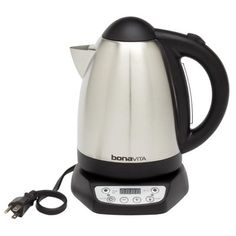http://www.modelhomekitchens.com/category/Electric-Tea-Kettle/ http://www.muupe.com/category/Electric-Tea-Kettle/ Bonavita 1.79-qt. Variable Temperature Electric Tea Kettle | Wayfair