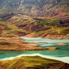 Taleghan Lake or Taleghan Dam Lake - near Karaj and Tehran - Iran (Persian: Taleghan (Persian: دریاچه سد طالقان در نزدیکی کرج) Photo by Mani Jahanshahi