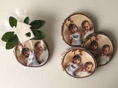 Ok, the Christmas has passed and  I'm sharing with you our Christmas gifts for grandparents, fridge magnet, which is also a tutorial  how to transfer a photo on…