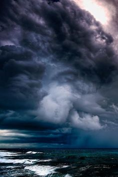 Hurricane on the way