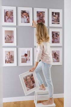 Frames On Wall, Gallery Wall, House, Home Decor, Haus, Interior Design, Home Interiors, Homes, Decoration Home