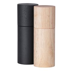 Wooden salt and pepper mills by Swedish brand Granite.