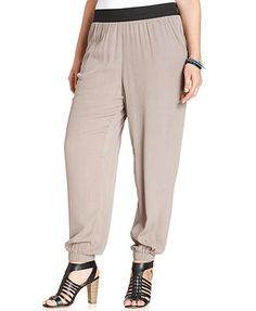 American Rag Plus Size Pull-On Soft Pants
