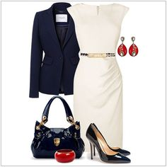 Business looks for women according to the current trends 2016 - it's a! about business - Kleidung Business Fashion, Business Mode, Business Outfits, Business Attire, Office Fashion, Work Fashion, Business Casual, Casual Office, Stylish Office