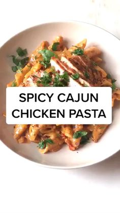 Pasta Dishes, Food Dishes, Cooking Recipes, Healthy Recipes, Simple Recipes, Easy Cooking, Food Cravings, Diy Food, Chicken Recipes