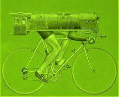 Bicycle Train Engine
