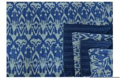 Kantha Throw-Ikat - Clever Girl
