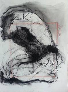 "Saatchi Art Artist Badri Valian; Drawing, ""Male Model, Nude"" #art"