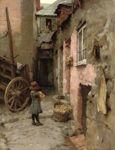 Daily Bread - (Elizabeth (Adela) Stanhope Forbes)