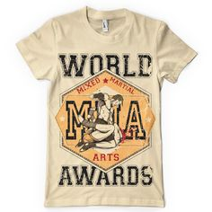 Mixed Martial Arts Mma World Awards Dtg. Full Colour T Shirt Custom Flags, Shirt Template, Arts Award, Awards, Custom Design, Mens Tops, T Shirt, Fashion, Personalized Flags