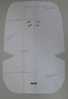 Resultado de imagen para molde de capa para bebe conforto burigotto