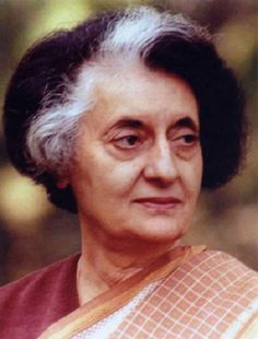 Indira Priyadarshini Gandhi was the third Prime Minister of India and a central figure of the Indian National Congress party. Gandhi, who served from 1966 to 1977 and then again from 1980 until her assassination in 1984, is the second-longest-serving Prime Minister of India and the only woman to hold the office.