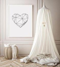 Minimalist Scandinavian Art Geometric Print Black and White Geometric Poster, Geometric Heart, Minimalist Scandinavian, Scandinavian Art, Nursery Prints, Nursery Room, Baby Bed Canopy, Selling Design, Minimal Home
