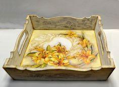 decoupage tray home decor art