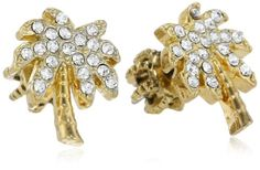 """Juicy Couture """"Replenishment"""" Palm Tree Stud Earrings"""