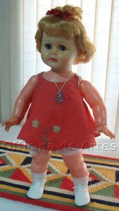 Boneca Antiga Beijoca Estrela 60s Na Caixa - R$ 800,00 no MercadoLivre