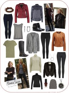 Character Style Inspiration - Emma Swan (Once Upon A Time)