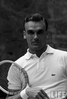 Classically stylish.  Vintage tennis, Life Magazine.