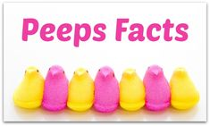 Hey, peep these Peeps facts! Up until the 1950s, Rodda Candy Company was a small manufacturer in Pennsylvania best known for its signature Easter candy: hand-formed, hand-colored yellow baby chicks made out of marshmallow and sugar.