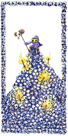 Oh how i love whimsical Skeletor!