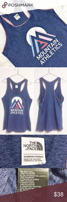 Northface Athletic top Northface Athletic top. Minimal stretch. Open to offers.  No trades. North Face Tops Tank Tops