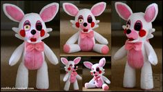 Five Nights At Freddys - Mangle - Plush by roobbo.deviantart.com on @DeviantArt