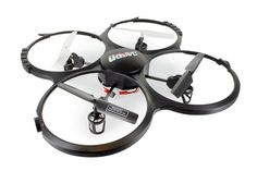 *LATEST MODEL* UDI U818A-1-P (PRO) Discovery 2.4GHz 4 CH 6 Axis Gyro RC