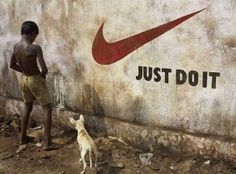 Creative marketing - Just Do It