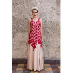Vestido em renda guipir. www.farthingale.com.br