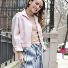 Transitional outfit for spring