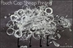 Pouch Cap Sheep Printing (from House of Burke)