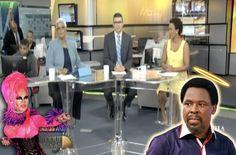 Enfoque Matinal: Directamente Desde Nigeria Llega A RD El Profeta T.B Joshua, El Que Cura El Cancer, El Sida Y A Los Gays