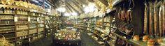 Panorámica tienda, zona alimentación